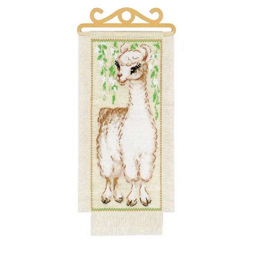 RIOLIS Borduurpakket Alpaca - RIOLIS
