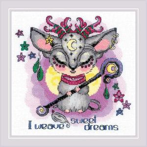 RIOLIS Borduurpakket Good Souls Moon - RIOLIS
