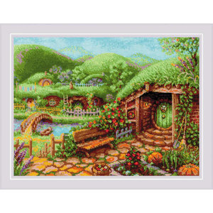 RIOLIS Borduurpakket Green Hills - RIOLIS