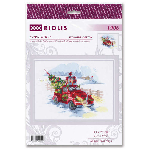 Leti Stitch Borduurpakket To the Holidays - RIOLIS