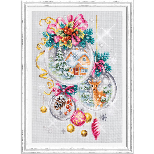 Chudo Igla Borduurpakket A Christmas Fairytale - Chudo Igla