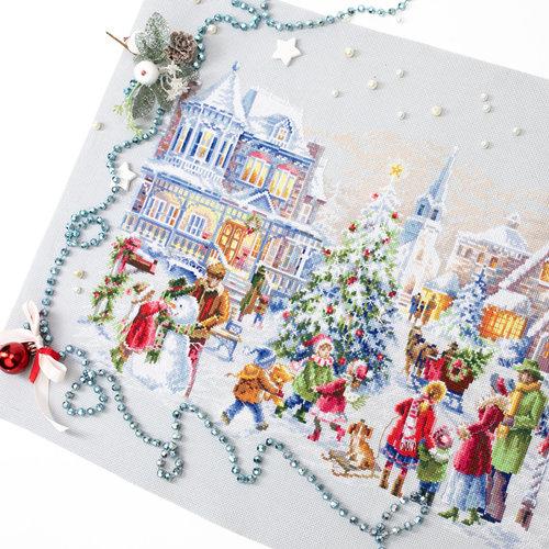 Chudo Igla Borduurpakket Christmas Eve - Chudo Igla