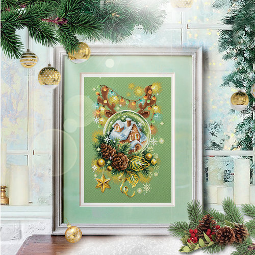 Chudo Igla Borduurpakket Light Christmas - Chudo Igla