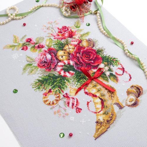 Chudo Igla Borduurpakket Christmas Surprise - Chudo Igla