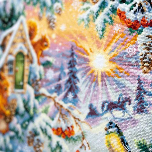 Chudo Igla Borduurpakket Winter Morning - Chudo Igla