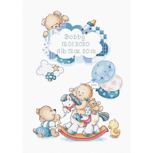 Leti Stitch Borduurpakket It's a Boy - Leti Stitch