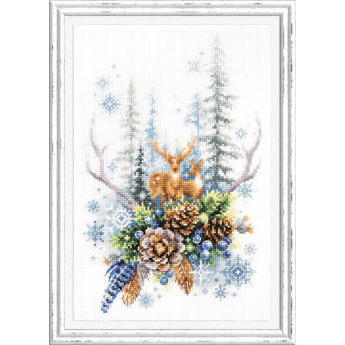 Chudo Igla Borduurpakket Winter Forest Spirit - Chudo Igla