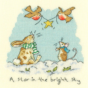 Bothy Threads Borduurpakket Anita Jeram - Star in the Bright Sky - Bothy Threads