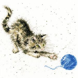 Bothy Threads Borduurpakket Hannah Dale - Kitty - Bothy Threads