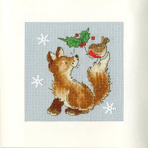 Bothy Threads Borduurpakket Margaret Sherry - Christmas Friends - Bothy Threads