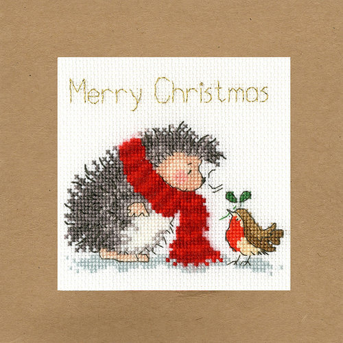 Bothy Threads Borduurpakket Margaret Sherry - Christmas Wishes - Bothy Threads