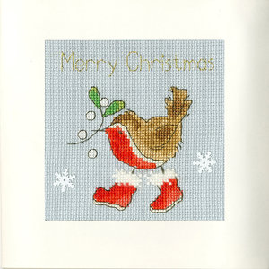 Bothy Threads Borduurpakket Margaret Sherry - Step into Christmas - Bothy Threads