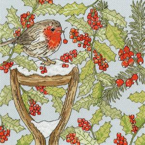 Bothy Threads Borduurpakket Fay Miladowska - Christmas Garden - Bothy  Threads
