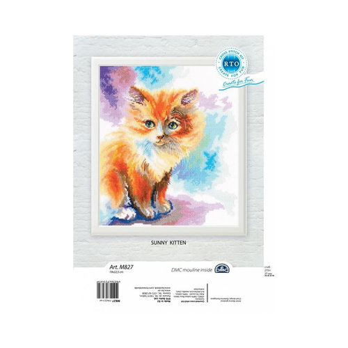 RTO Borduurpakket Sunny Kitten - RTO