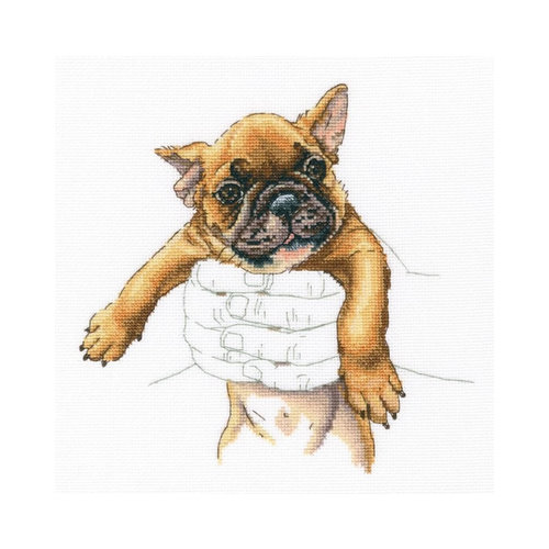 RTO Borduurpakket In Palms - French Bulldog - RTO