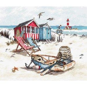 Leti Stitch Borduurpakket Beach - Leti Stitch