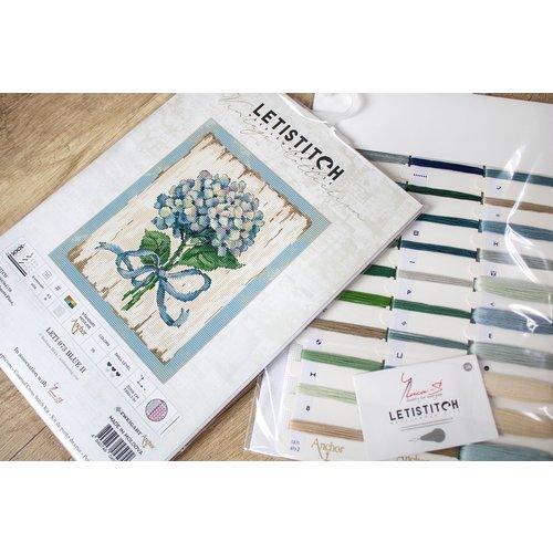 Leti Stitch Borduurpakket Blue II - Leti Stitch