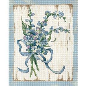 Leti Stitch Borduurpakket Blue I - Leti Stitch