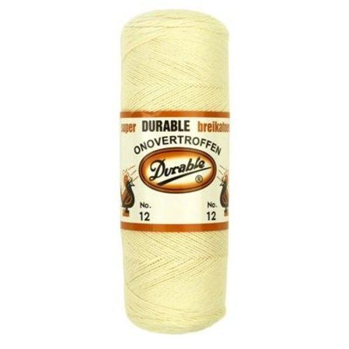 Durable Durable breikatoen ecru - no. 12