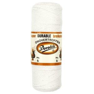 Durable Durable breikatoen wit - no. 6
