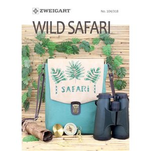 Zweigart Borduurboekje Zweigart - Wild Safari