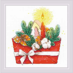 RIOLIS Borduurpakket New Year's Letter - RIOLIS