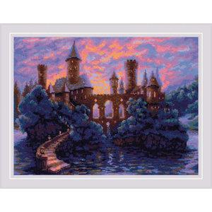 RIOLIS Borduurpakket Mysterious Castle - RIOLIS