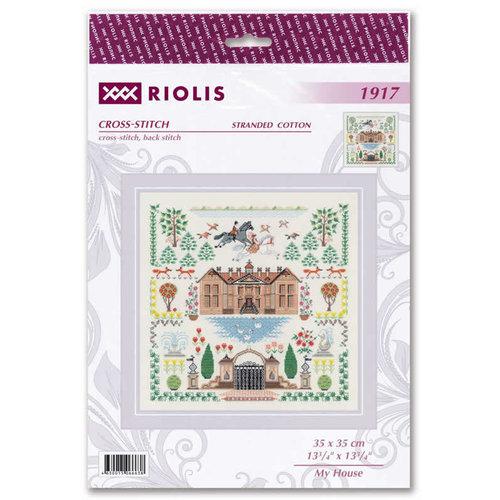 RIOLIS Borduurpakket My House - RIOLIS