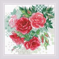 Borduurpakket Red Rose Hip - RIOLIS