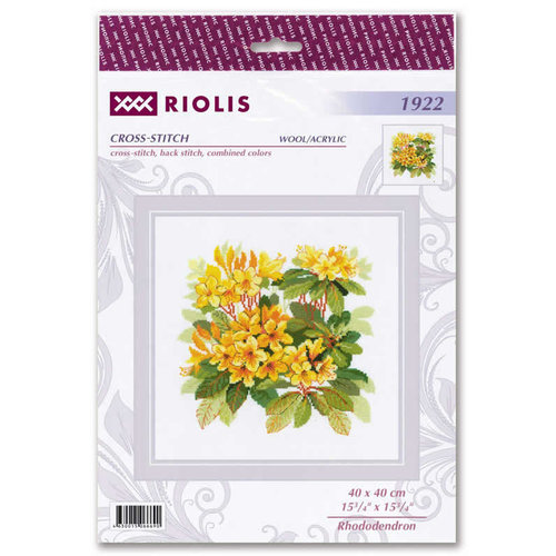 RIOLIS Borduurpakket Rhondodendron - RIOLIS