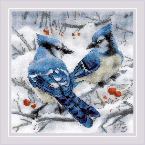 RIOLIS Borduurpakket Blue Jays - RIOLIS