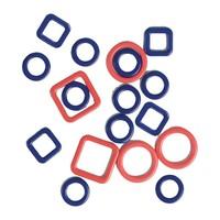 Metalen Steekmarkeerders - 4 maten - 40 stuks