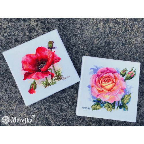 Merejka Borduurpakket Rose - Merejka