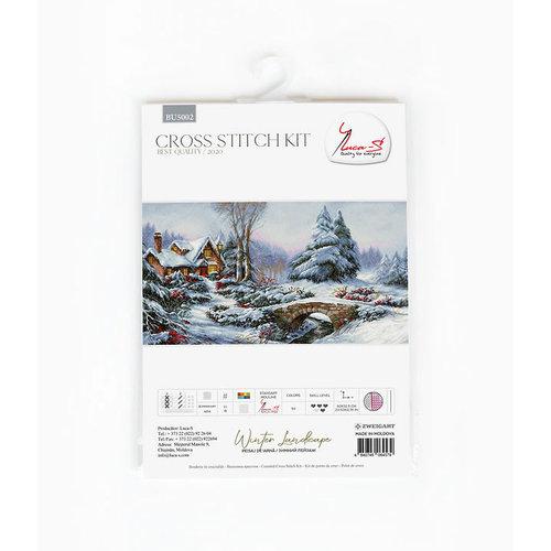 Luca-S Borduurpakket Winter Landscape - Luca-S