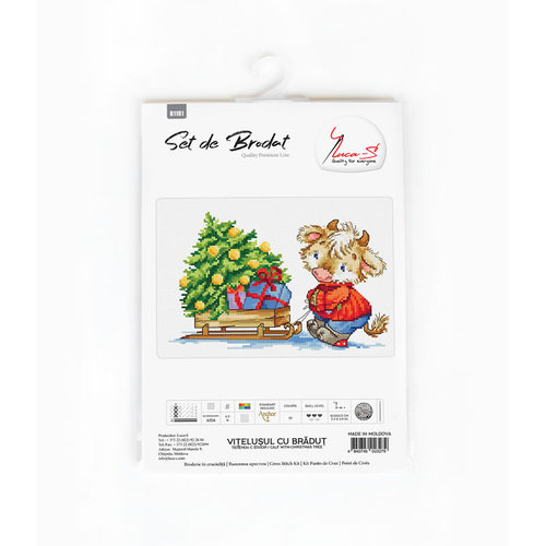 Luca-S Borduurpakket Calf with Christmas Tree - Luca-S