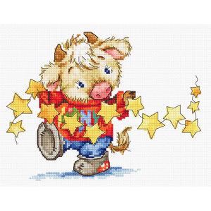 Luca-S Borduurpakket Calf with Stars - Luca-S