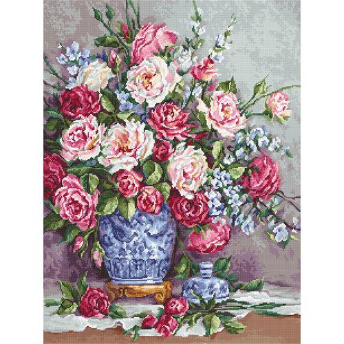 Luca-S Borduurpakket Her Majesty's Roses - Luca-S