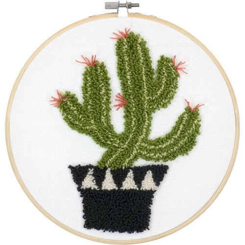 Dimensions Punch Needle Pakket - Prickly Cactus - DIMENSIONS
