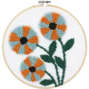 Dimensions Punch Needle Pakket - Mordern Floral - DIMENSIONS