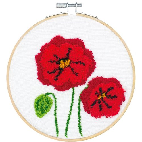 Dimensions Punch Needle Pakket - Poppies - DIMENSIONS