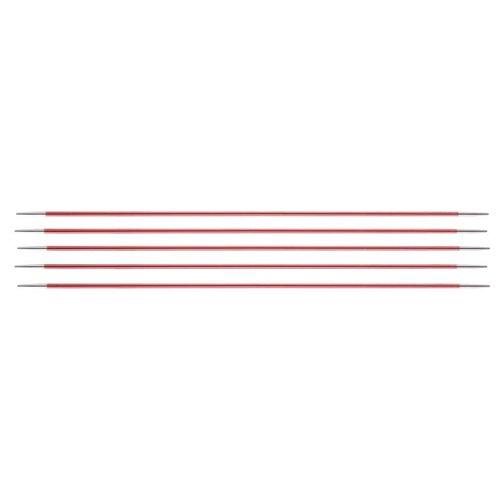KnitPro Zing Sokkennaalden DPN -5 - 15 cm - van 2 t/m 8 mm