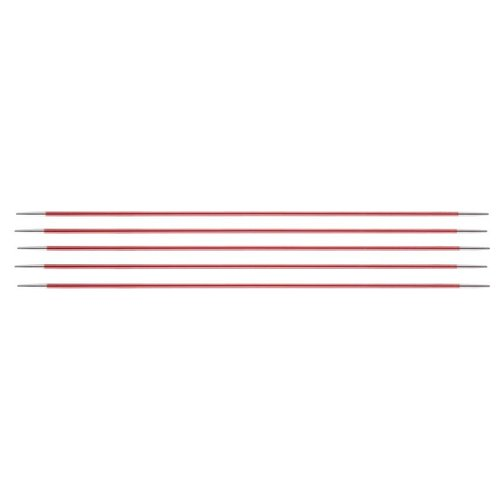 KnitPro Zing Sokkennaalden DPN -5 - 15 cm - 2 - 8 mm