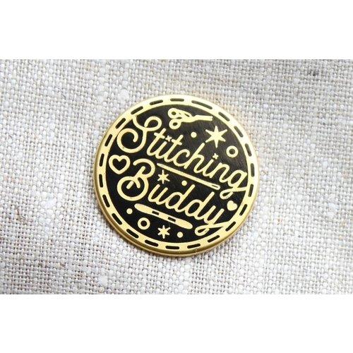 Stitchonomy  Needle Minder - Naaldenmagneet Stitching Buddy - Zwart