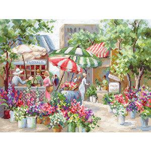Leti Stitch Borduurpakket Flower Market - Leti Stitch