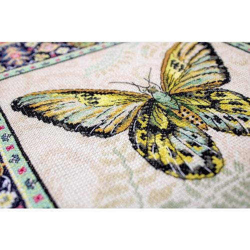 Leti Stitch Borduurpakket Vintage Butterfly - Leti-Stitch