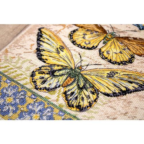 Leti Stitch Borduurpakket Vintage Wings - Leti Stitch