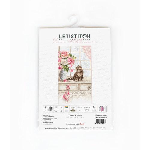Leti Stitch Borduurpakket Kitten - Leti Stitch
