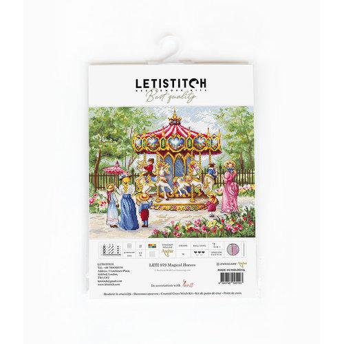Leti Stitch Borduurpakket Magical Horses - Leti-Stitch