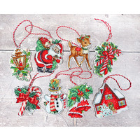 Borduurpakket Christmas Toys Kit No. 1 - Leti Stitch