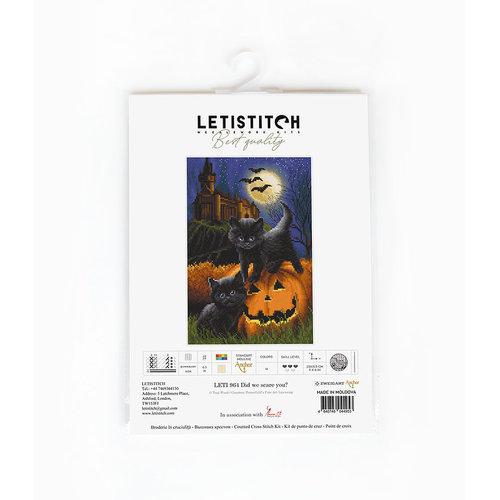Leti Stitch Cross stitch kit Did we scare you? - Leti Stitch